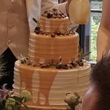 ケーキドリップに使用したオーダーケーキ