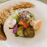 帆立貝のマリネ バルサミコ風味