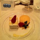 デザートです。