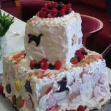 子供たちのデコレーションケーキ♪