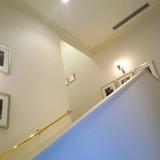 2階に登る階段新郎新婦のみが使用