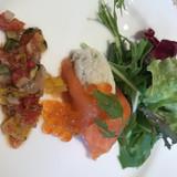 前菜の野菜もとても美味しかったです。