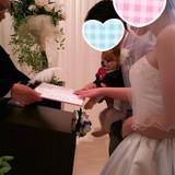 結婚証明書に愛犬の手形