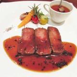 フレンチのお肉料理