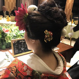 母の希望が打掛、和髪、簪でした!