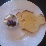 シェフが焼いたパン。