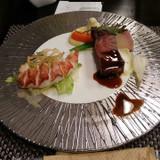 海老とお肉です