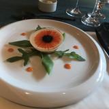 前菜の海鮮ムース