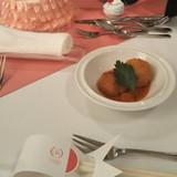 前菜のライスコロッケ