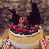 ケーキ 1番上の段