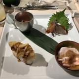 穴子の天ぷらの握りがとても美味しかった