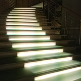 撮影スポットの階段