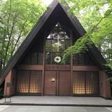 有名な軽井沢高原教会