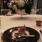 ブライダルフェア試食(ウニと温泉卵の前)