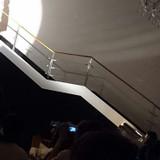 階段からの再入場