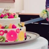 オリジナルのウェディングケーキです。