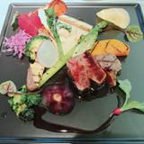 新鮮な野菜と美味しいお肉