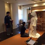 前撮りにて。実際は熊野大社で行います。