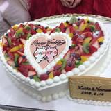 ケーキがめちゃくちゃ可愛かったです!