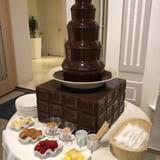 チョコレートファウンテン。