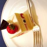 シメのショートケーキ