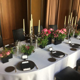 披露宴会場のお花