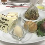 式後に出してくださったお料理
