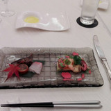 和食と洋食の食べ比べです♪