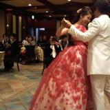念願のファーストダンスをしました!