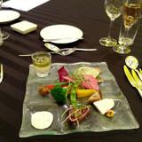 神戸にて試食会。前菜分(当日も一緒です)