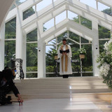 結婚式場とても光が入り綺麗です