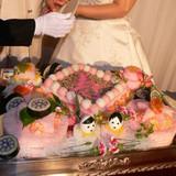ケーキ代わりのちらし寿司