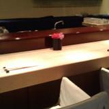 日本料理レストランのカウンター