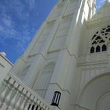 教会を外から見た様子