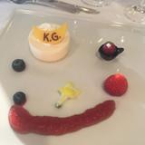 KGマークのデザートです。