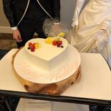 大好評だったウェディングケーキです。