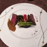 メインの佐賀牛のフィレ肉です