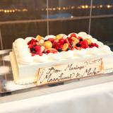 パティシエおまかせのウエディングケーキ
