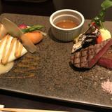 真鯛とステーキ!