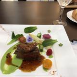 牛肉とフォアグラのメイン