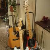 余興で使われたギターやベース