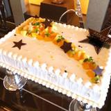 七夕をイメージしたウェディングケーキ