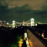 東京タワーとレインボーブリッジのコラボ