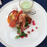 オマール海老、美味しかったです。