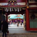 外から神殿を撮ったところ