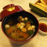 会津の郷土料理。こづゆ