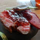 ワンプレートのお肉