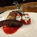 クリスマスヴァージョンのデザート