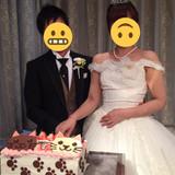 ウェディングケーキだけはこだわりました