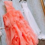 カラードレスは一目惚れでした!